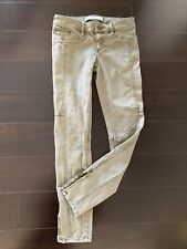 Abercrombie & Fitch Women Greenish Jeans Size 00 W24