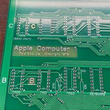 Apple 1 replica motherboard clone build project motherboard PBC US SELLER