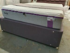 NEW TEMPUR MALMO 27 MEMORY FOAM DOUBLE 135 x 190cm Mattress SOFT £1899 CLOUD