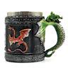 3D Stainless Steel Dragon Mug