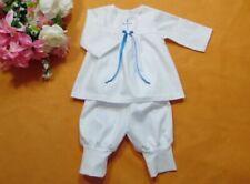 Jacky Baby Jungen Hemd langarm mit Fliege Gr 56-92 weiß Taufhemd Taufkleidung