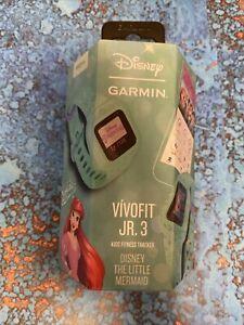 ✅ Disney Garmin Vivofit Jr 3, Kids Fitness Tracker, The Little Mermaid