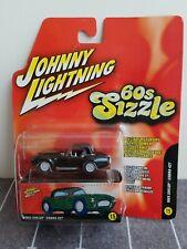 Johnny Lightning *WHITE LIGHTNING* 1965 Shelby Cobra 427 60s Sizzle