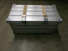 Zarges Alu Brotbox Klappbox Transportkiste Aufwahrung Stapel Bundeswehr BW