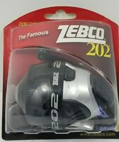 NEW Zebco 202 Spincast Fishing Reel All Metal Gears 10 lb Line NEW