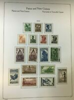 CJL10) Papua New Guinea Mint Unhinged Collection 1952 – 1990