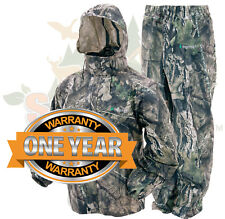 Camo Frogg Toggs All Sport Rain Suit Mossy Oak Country Gear Jacket & Pants SM