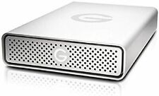 G-Technology 0G03674-1 G-DRIVE USB 3.0 Desktop External Hard Drive, 6TB - Silver