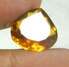 UNTREATED NATURAL 11.05  Cts PEAR  CUT  YELLOW SAPPHIRE GEMSTONES RM258