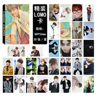 30pcs set Kpop Bangtan Boys Kim Tae Hyung V Personal Photo Poster Lomo Cards