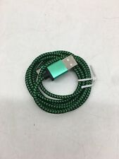 ✔ LOT- Nylon Braided Rope USB-C Type-C 3.1 Data Sync Charger Charging Cable Cord