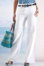 Per Una Wide Leg Cotton Trousers for Women
