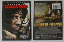 Rambo  Stallone  U.S. dvd in original cover, Like New