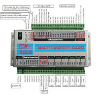 3 Axis Mach3 CNC Motion Control Card Breakout Board Stepper Control for Mill