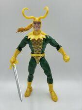 Marvel legends Classic Loki & sword (no build a figure piece)