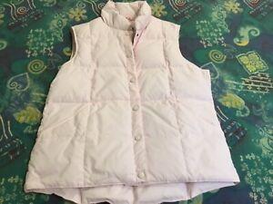 Womens  Down Puffer Vest. Lands End US Size Medium