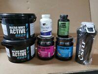 2KG Micro whey active + BCAA 8:1:1 + Creatina + Tribulus + Vitamine + Shaker...
