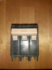 Cutler-Hammer Ch360 60 Amp, 3-Pole Circuit Breaker with 1 broken foot