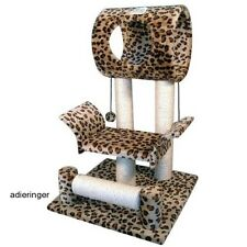 Cat Climbing Tree Condo Pet Furniture Tower House Bed Scratcher Toy Exercise