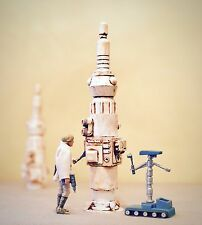 "Custom Cast 3pc Moisture Vaporator Prop Playset Diorama Star Wars 1:18 3.75"""