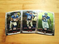 2014 Topps Chrome New York Giants TEAM SET - Odell Beckham Jr. Rookie