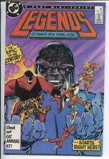 Legends #1 - 1st Amanda Waller! - (Grade 9.2 Or Better) 1986