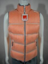 NWT PUMA Men's Down Tundra Vest Spicy Orange size M
