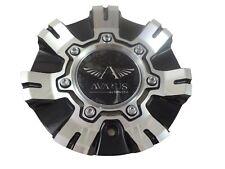 Avarus Machine Black / Chrome Wheel Center Caps # M-355-2 / TL CAP M-355-1 (1)