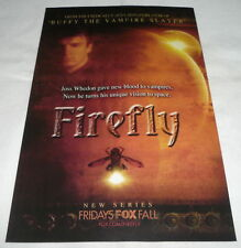 2002 tv series premiere ad page ~ FIREFLY ~ Fox