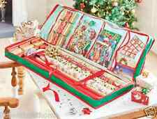GIFT WRAP & DECORATION ORGANISER * CHRISTMAS WRAPPING PAPER STORAGE BAG CRAFTS