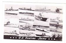 U.S. FIGHTING SHIPS(18)---POSTCARD