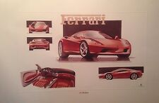 Ferrari 360 Modena Factory Car Poster Extremely Rare Shot Own It!!