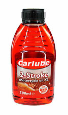 Carlube 2T 2 Stroke Oil 500ml Midi Bike Suzuki LT50 LT80 Quad ATV Mini Moto