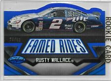 2016 CERTIFIED FAMED RIDES RUSTY WALLACE 29/50 NASCAR RACING NICE CARD