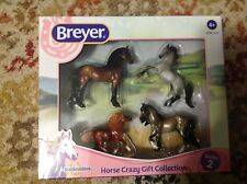 NEW 2018 Breyer Horse Crazy Stablemate Set!Django,Shetland Pony,Arabian,& tushar