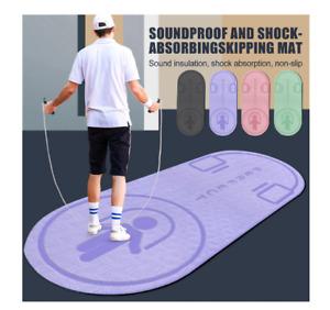 Non-Slip Mat TPE Yoga Mat Jump Rope Skipping Floor Jumping Dancing Yoga Mat