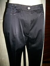 Pantalon habillé coton/polyester bleu stretch CHRISTINE LAURE 40FR 38D 16VH33