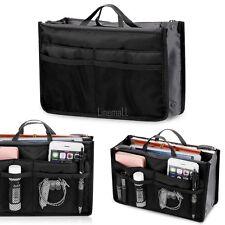 Insert Handbag Organiser Purse Liner Organizer Women Storage Bag Tidy Travel LM