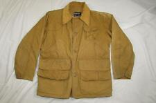 Vtg 50s 60s Red Head Bone Dry Canvas Hunting Jacket Sun Faded Work Wear Nice!