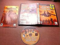 Sony PlayStation 2 PS2 CIB Complete Tested Star Wars The Clone Wars Ships Fast