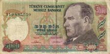 05 Turkey / Türkei P197A 5000 Lirasi 1985 A19