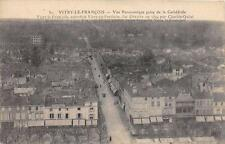 CPA 51 VITRY LE FRANCOIS VUE PANORAMIQUE