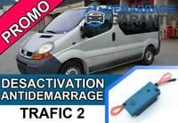 Clé de désactivation d'anti démarrage Renault TRAFIC 2