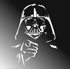 BIG Vinyl sticker MOVIE STAR WARS Darth Vader car 20x27cm Worldwide FREE