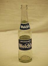 Old Vintage Sparkling Welch's Beverage Soda Pop Bottle 10 fl. oz.