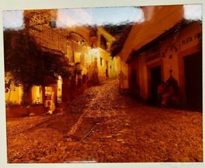 """Don K. Langson,  Original Color Photograph """"Taxco Lovers"""" 1978 Signed 11"""" by 14"""""""