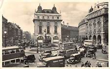 uk37465 piccadily circus london real photo uk lot 12 uk bus oldtimer