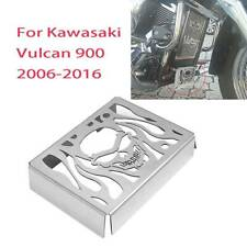 Steel Radiator Grill Guard Cover for Kawasaki Vulcan VN900 Custom 2006 - 2016 00