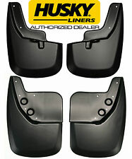 HUSKY Mud Guards Flaps for 07-13 TOYOTA TUNDRA 2Pair Front & Rear 56911 57911