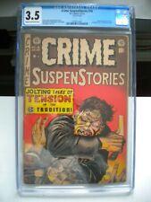 CRIME SUSPENSTORIES #16 CGC 3.5   (EC COMICS)